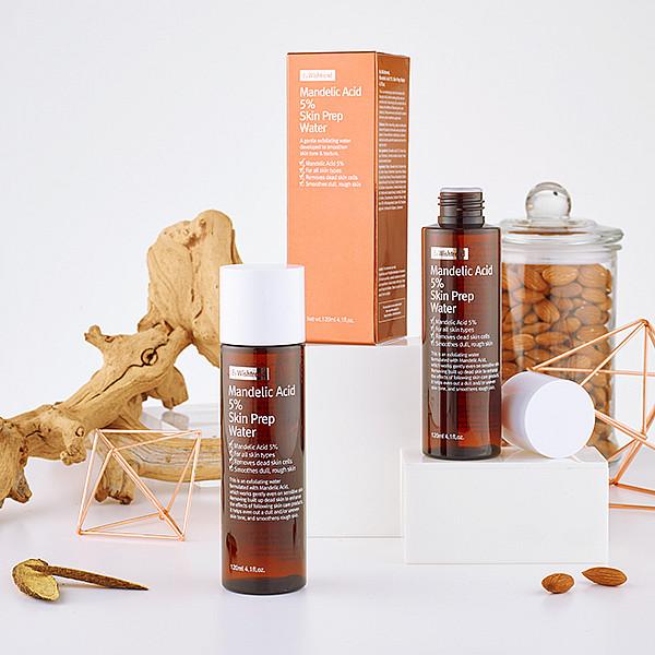Mandelic Acid 5% Skin Prep Water  Источник: https://eos.kiev.ua/mindalnyy-toner-piling-by-wishtrend-mandelic-acid-5-skin-prep-water-30-ml/ © eos.kiev.ua
